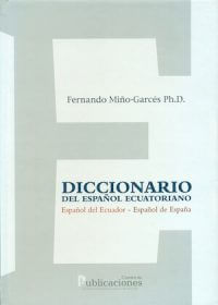 DICCIONARIO DEL ESPAÑOL ECUATORIANO
